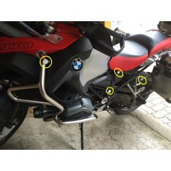 Tapones Defensas BMW R1200 GS Adventure